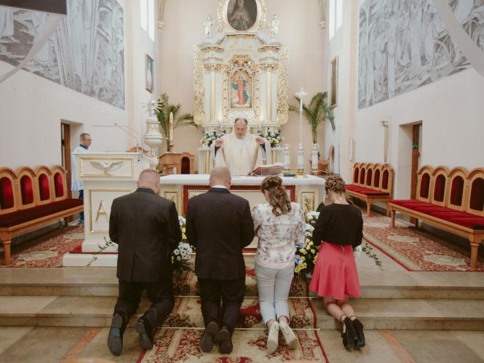 Chrzest Święty Wojtusia