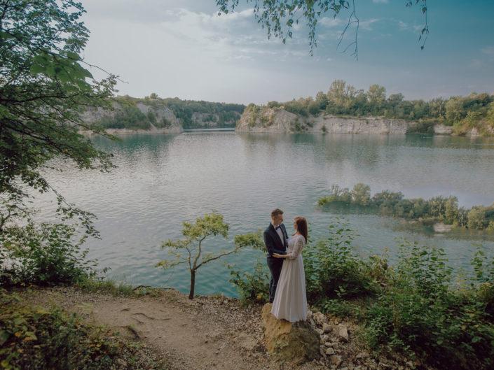 Pener ślubny Pauliny i Eryka