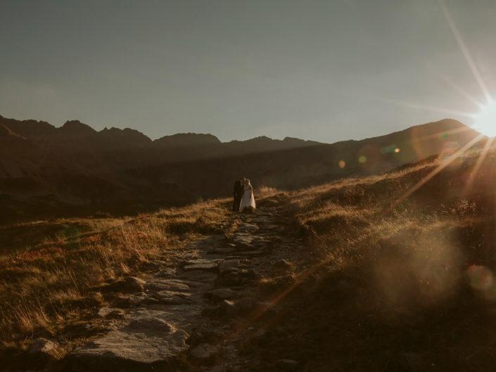 Natalia i Mateusz w Dolinie Pięciu Stawów