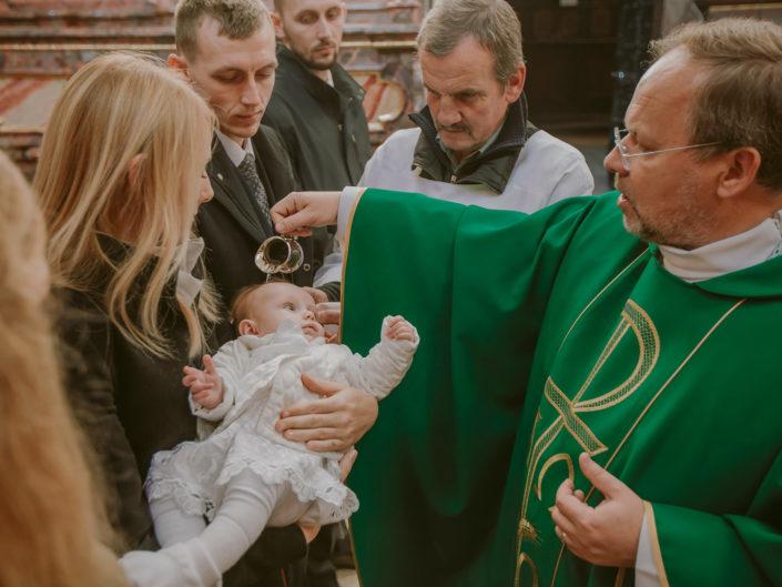 Chrzest Święty Agatki