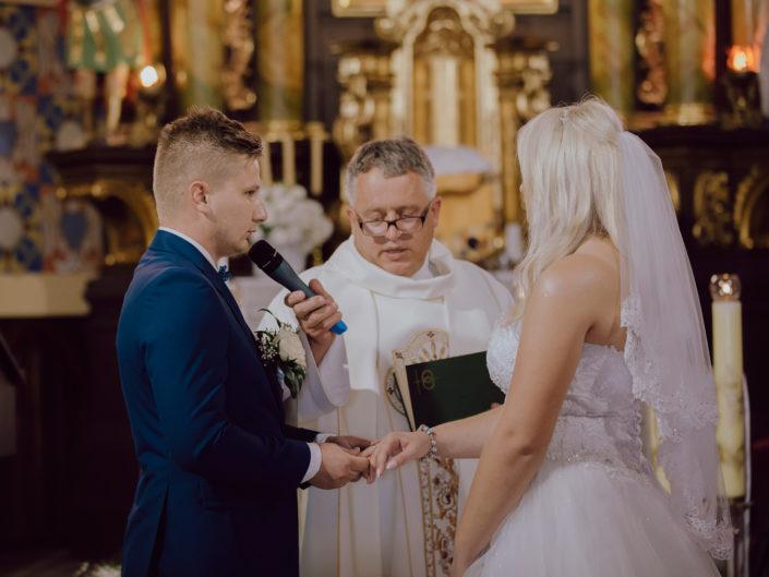Skrót reportażu ślubnego Moniki  i Damiana