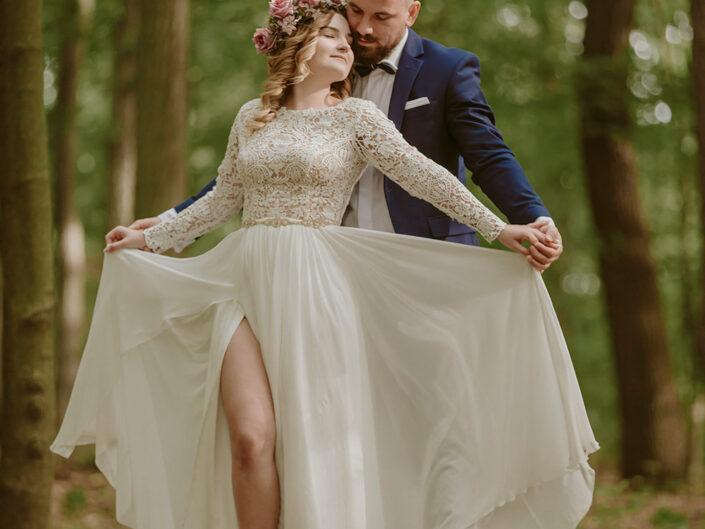 Plener ślubny Luizy i Bartłomieja